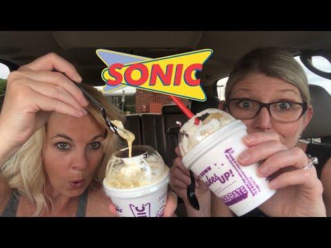 Sonic NEW CAKE BATTER SHAKE Review