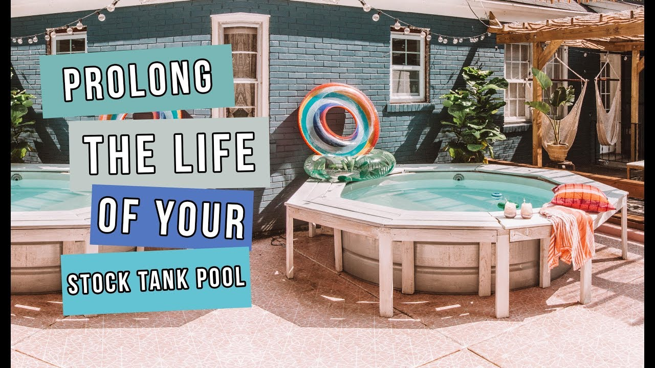 How To Paint Your Stock Tank Pool And Prolong It S Life