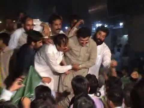 Rally For Opening Ceremony of Muslim League House Faisalabad 2012 PMLN Youthwing