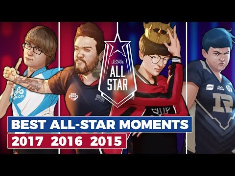 Best of All-Star 2015, 2016 & 2017 - Get hyped for LoL All-Star 2018