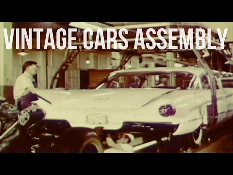 Vintage General Motors Cars Production