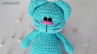 Амигуруми: схема Шкодливого Кота. Игрушки вязаные крючком - Free crochet patterns.