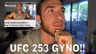 """Israel Adesanya's Gyno On One Side Only - Reaction to """"Doctor Reacts to UFC 253"""""""
