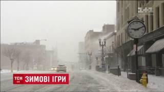 Південний схід Сполучених Штатів засипає снігом