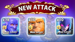 100% Easy Play 18 Max Bowler 10 Max Witch 10 Max Giant 3 Star Any TH12 Max War Bases |Clash Of Clans
