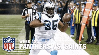Mike Tolbert Scores TD, Does Carlton Dance! | Panthers vs. Saints | NFL