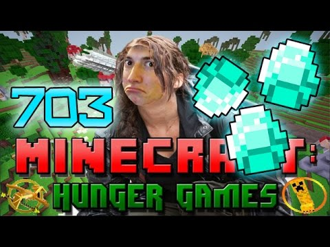 Minecraft: DIAMOND DEATH MATCH! Hunger Games w/Bajan Canadian! Game 703