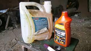 добавка двухтактного масла в ДИЗЕЛЬНОЕ ТОПЛИВО (солярка )