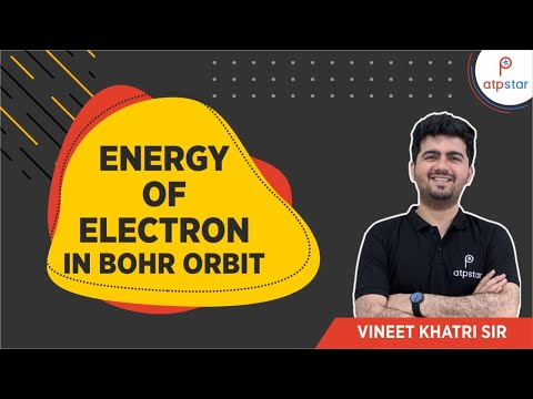 Energy of Electron in Bohr orbit - IITJEE Concepts in Hindi
