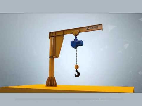 Pillar jib crane- Jib crane design of Dongqi Crane