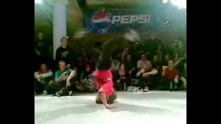 B-girl Dora pepsi circle industry Balkan organized by DJ WOO*D the illest:)