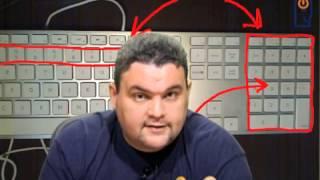 Curso de Informática Completo! - O teclado - Aula 3. 2014!