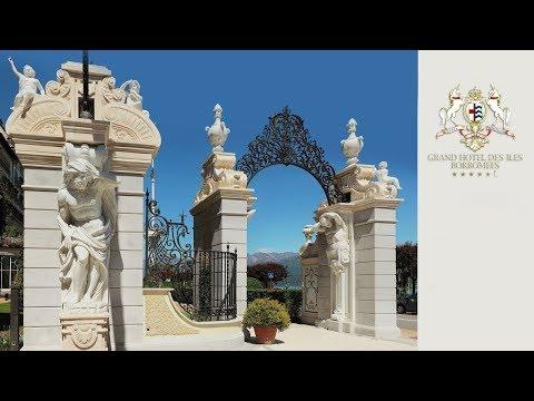 Grand Hotel Des Iles Borromees Visto Dal Drone