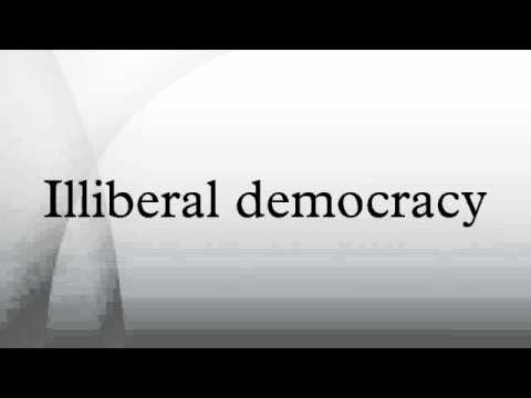 what is illiberal democracy