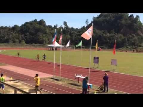 4x200m U12 MSSB SELATAN, Papar Team, Sabah, Malaysia-Aidan Ibrahim b. Mohamat 4th runner GOLD