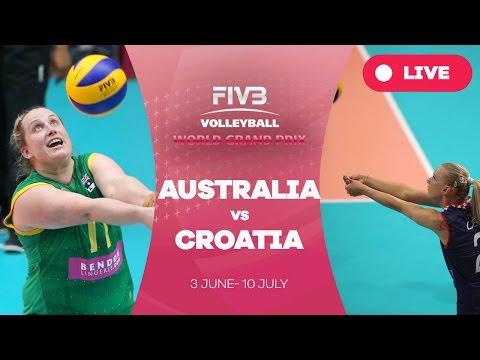 Australia v Croatia - Group 3: 2016 FIVB Volleyball World Grand Prix