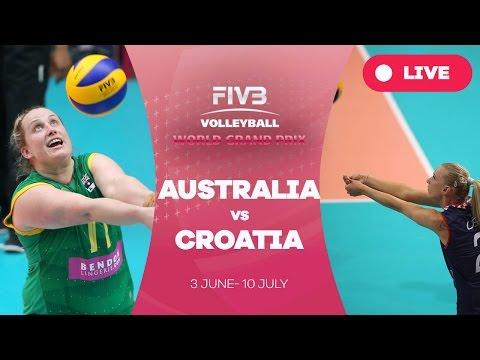 Australia v Croatia - Group 3: 2016 FIVB Volleyball World Grand Prix