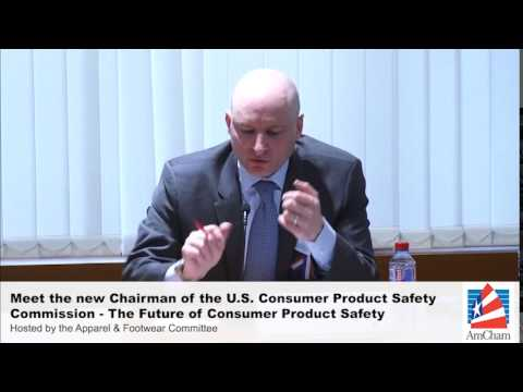 Meet the new Chairman of the U.S. Consumer Product Safety Commission, Jan 13