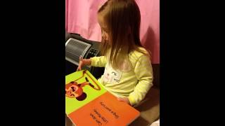 2014-07-30 Presley reads Little Monkey Calms Down Thumbnail