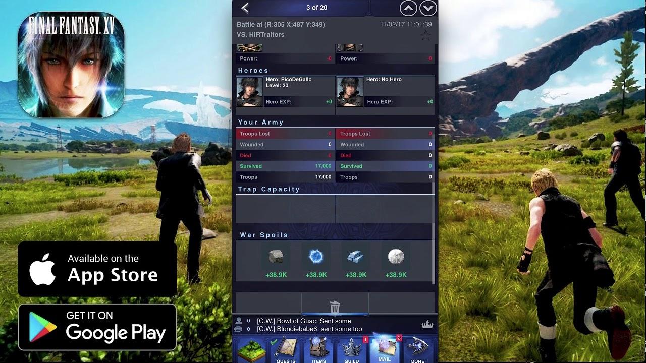 Final Fantasy XV: A New Empire Tips and Tricks Guide