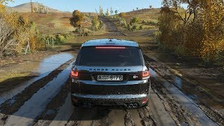 Forza Horizon 4 - 2015 LAND ROVER RANGE ROVER SPORT SVR - OFF-ROAD in fortune island - 1080p60FPS