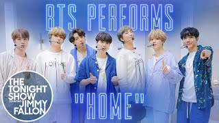 BTS: HOME | The Tonight Show Starring Jimmy Fallon
