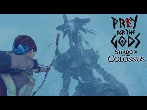 O PRIMEIRO COLOSSO! NOVO SHADOW OF THE COLOSSUS! | Praey for the Gods #1?