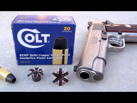 Colt  Brand.45 ACP Ammo Review - Would I Bet My Life On It???