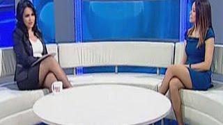 Duygu Canbaş Beautiful Turkish Tv Presenter 30.03.2013