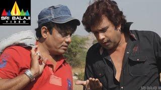 Hyderabad Kay Sholay Comedy Scene 23 | Thakur Meets Veeru and Jai Scene | Sri Balaji Video