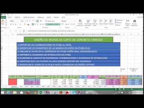 DISEÑO DE MUROS DE CORTE DE CONCRETO ARMADO   PARTE 1