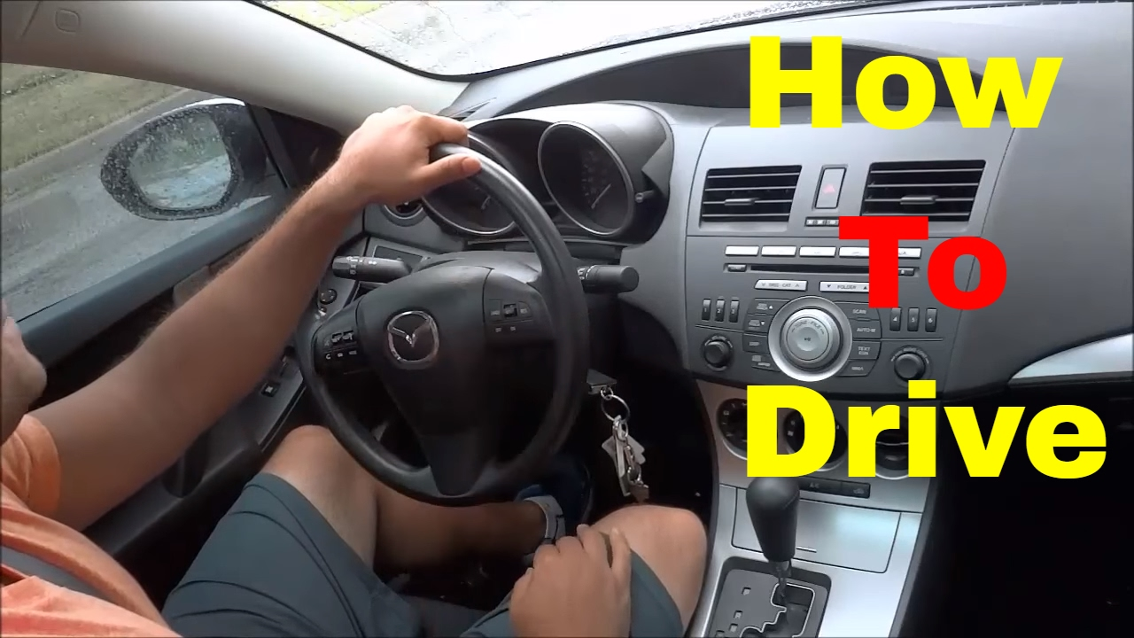how to drive an