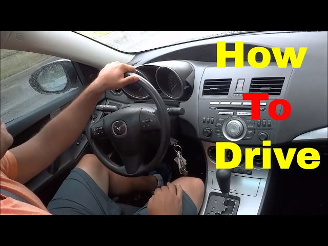 The Start-to-Finish Guide on How to Drive an Automatic Car