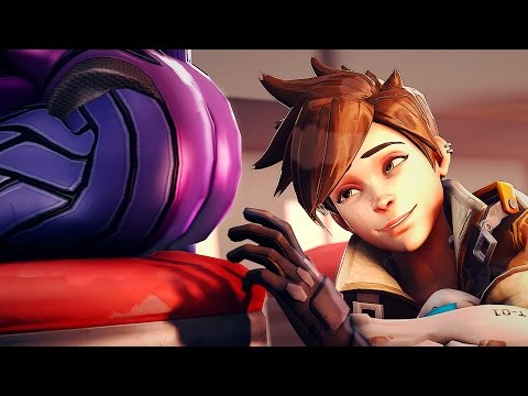 LESBIAN TRACER RUINS OVERWATCH