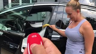 Tesla Model X doors crushing things