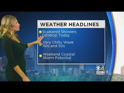WBZ Midday Forecast For October 23