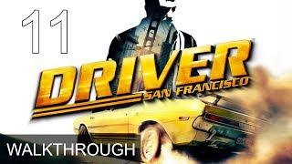 Driver San Francisco Walkthrough Part 11 Gameplay LetsPlay