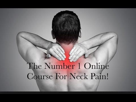 Neck Pain Relief Exercise Video- Fix your own neck pain -100% money back guarantee!