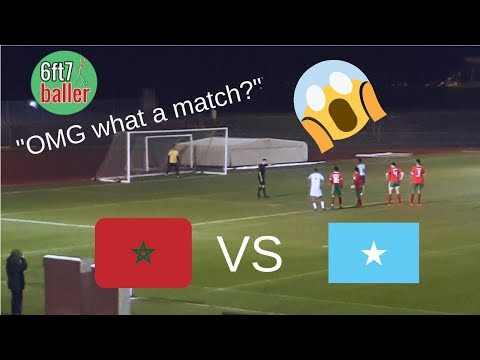 I WATCHED MOROCCO VS SOMALIA IN AN EPIC CHARITY FOOTBALL MATCH