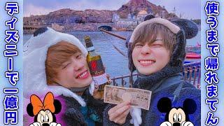 【酒解禁】ディズニーで1億円使い切るまで帰れまてん!!