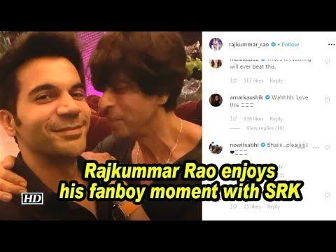 Rajkummar Rao enjoys his fanboy moment with SRK Mp3