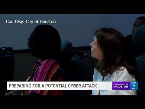 City of Houston learning how to handle a potential cyber attack