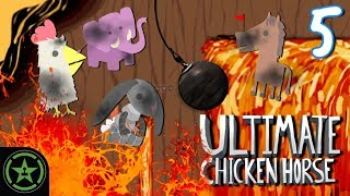 Let's Play - Ultimate Chicken Horse - Sticky Situations (Part 5)