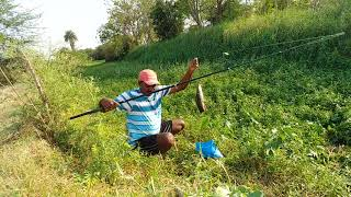 Fish hunting||Traditional fishing, catching the Catfish