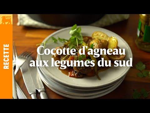 Cocotte d'agneau aux légumes du Sud