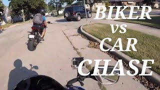 MUST WATCH! See What Happens When Angry Biker Chases Car | Angry People & Crashes