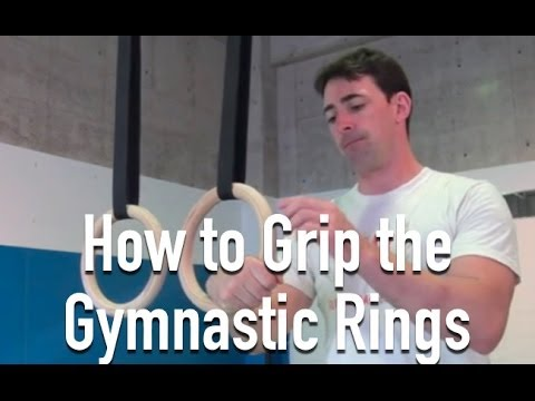 Gymnastic Rings 101: How to Grip the Rings | The Art of Manliness