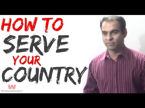 how can you help your country