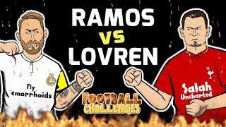 🔥RAMOS vs LOVREN: Football Challenges!🔥