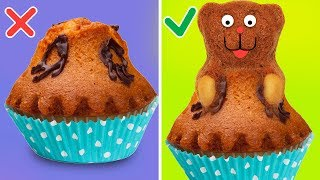 13 CUTE AND EASY CUPCAKE DECORATIONS